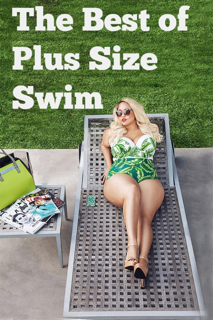 20+ Plus Size Swimsuits from more than 6 six different plus size stores. Find the perfect plus size swimsuit today. Fatkinis, bikinis, tankinis, one-piece, vintage swimwear, swimdress
